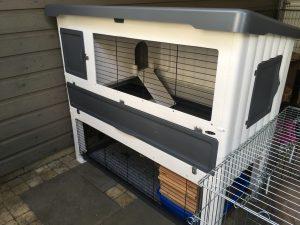Het buitenverblijf onder de carport